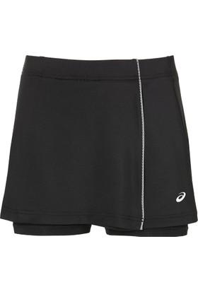 Asics Siyah Kadın Tenis Etek 154422-0904