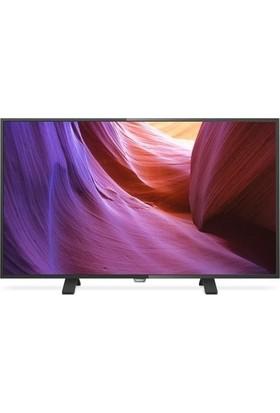 """Philips 49PUK4900 49"""" 124 Ekran Ultra Hd 400 Hz Çift Çekirdek Uydu Alıcı 4K LED TV"""