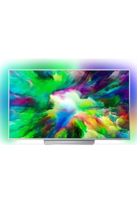 """Philips 49PUS7803 49"""" 123 Ekran Uydu Alıcılı 4K Ultra HD Smart LED TV"""