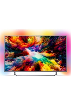 "Philips 50PUS7303 50"" 127 Ekran Ambilight Ultra İnce 4K UHD Smart LED TV"