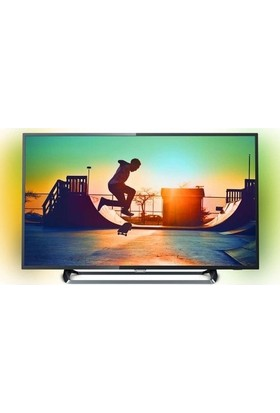 "Philips 49PUS6262 49"" 123 Ekran Uydu Alıcılı 4K Ultra HD Smart LED TV"