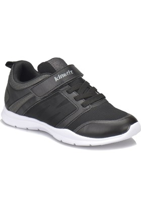 Kinetix Jester Siyah - Koyu Gri Erkek Çocuk Koşu Ayakkabısı