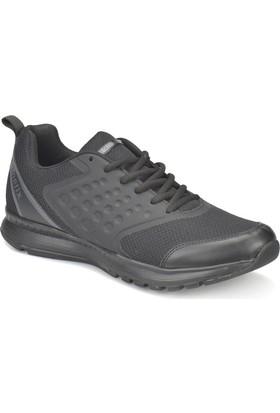Kinetix Basta Siyah - Koyu Gri Erkek Koşu Ayakkabısı