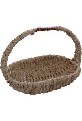 Vtb Bambu Çok Amaçlı Sepet Doğal İthal Bambu 43 X 34 Cm. Ebatında 1002