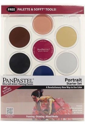Panpastel Portrait Starter Set 7 Renk + Aksesuar