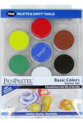 Panpastel Basic Color Starter Kit 7 Renk + Aksesuar