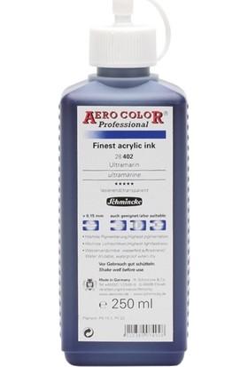 Schmincke Aero Color Ultramarine 402 Mürekkep 250 ML
