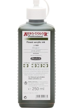 Schmincke Aero Color Olive Green 503 Mürekkep 250 ML