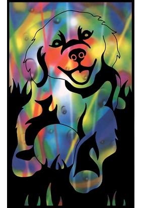 Reeves Gökkuşağı Gravür Kazıma Seti - Yavru Köpek