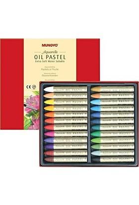 Mungo Yağlı Pastel - Oil Pastel 24 Renk