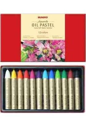 Mungo Yağlı Pastel - Oil Pastel 12 Renk