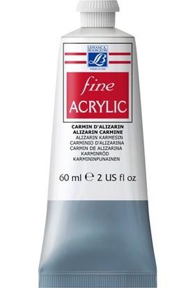 Lefranc & Bourgeois Fine Akrilik Boya 60 ML N:328 Alizarin Carmine