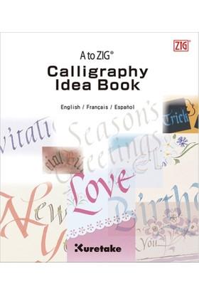 Zig Calligraphy Idea Book Eğitim Kitapçığı Intx200-811