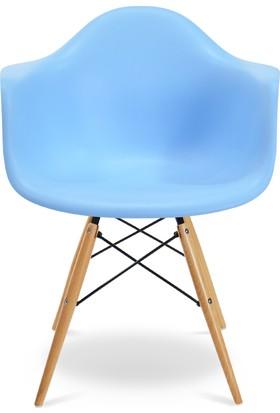 Eames Mavi DAW Sandalye