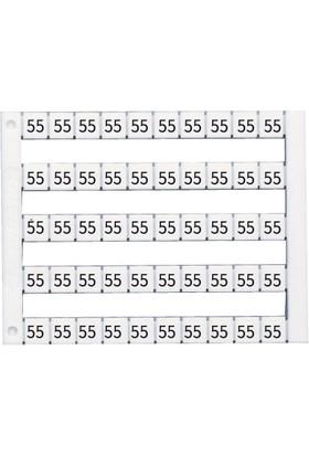 Klemsan Dy 5 / 101-150 Arası Baskılı Klemens Etiketi Dy5