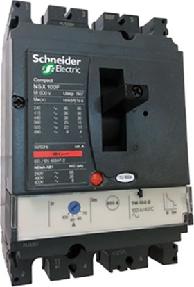 Schneider Electric 80-100A Kompakt Şalter Lv429630