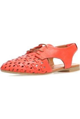 Jo'Scarlet Kayla Kadın Kırmızı Sandalet