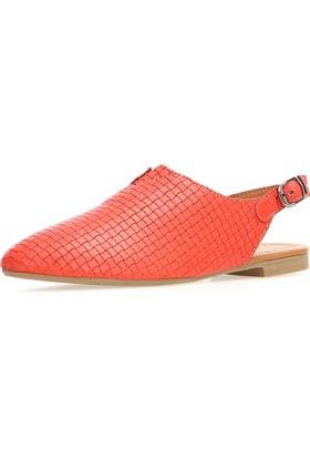 Jo'Scarlet Tessa Kadın Kırmızı Sandalet