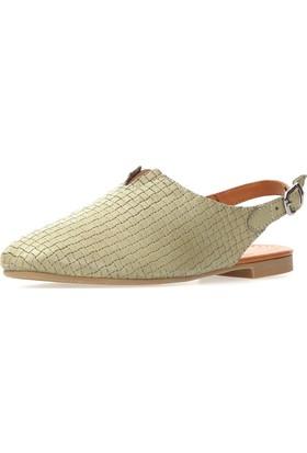 Jo'Scarlet Tessa Kadın Yeşil Sandalet