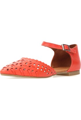 Jo'Scarlet Wilda Kadın Kırmızı Sandalet