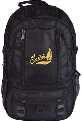 Sailor SD-3166 Siyah Dağcı Seyahat Sırt Çantası Outdoor-Trekking A+ Kalite
