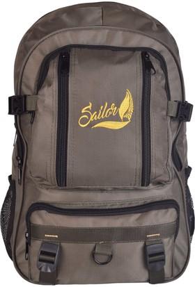 Sailor SD-3169 Haki Dağcı Seyahat Sırt Çantası Outdoor-Trekking A+ Kalite