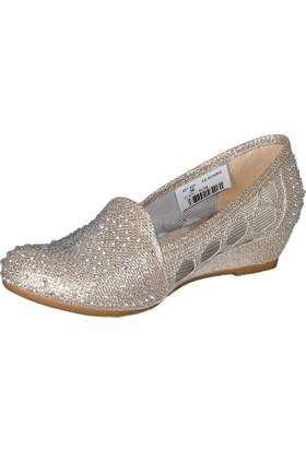 De Scario 320 Taşlı Babet Ayakkabı