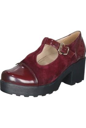 Fancy 30 Kalın Topuk Ayakkabı