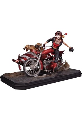 Dc Collectıbles Gotham City Garage Harley Quinn Deluxe State