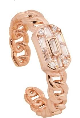 Paljewelry Ayarlanabilir Örme Gümüş Yüzük