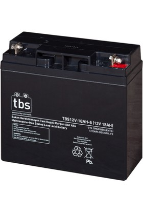 TBS 12V-18AH-5 UPS Tip Akü (TSK1457)