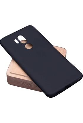 Case 4U LG G7 ThnkQ Kılıf Mat Silikon Arka Kapak - Premier - Siyah
