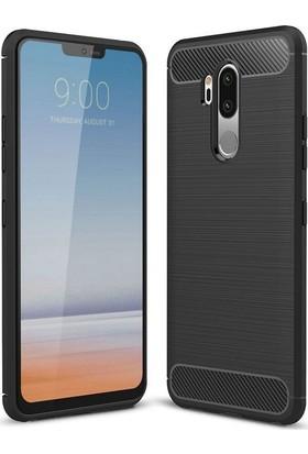 Case 4U LG G7 ThnkQ Kılıf Darbeye Dayanıklı Room Arka Kapak - Siyah