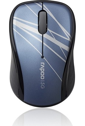 Rapoo 3100P 5GHz Wireless Optical Mouse Mavi
