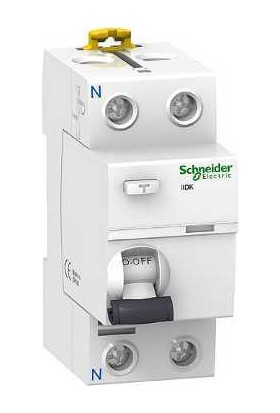 Schneider Electric 2 Kutuplu 2P 25A 30Ma Kaçak Akım Rölesi A9R50225