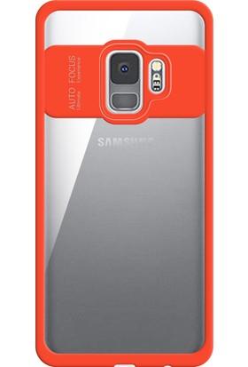 Zore Samsung Galaxy S9 Hibrit Silikon Kenarlı Sert Koruma Kılıf
