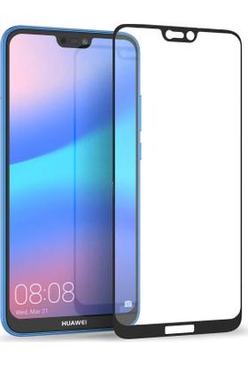 Kılıfist Huawei P20 Lite Tam Kapatan Esnek Nano Full Ekran Koruyucu