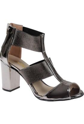 Shalin Bayan Ayakkabı Bşk 016 Antrasit