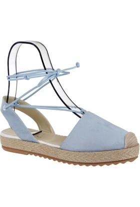 Shalin Bayan Espadril Ayakkabı-Szr 201 Mavi