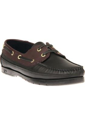 Ziya Erkek Hakiki Deri Ayakkabı 81491 29 Siyah-Kahve