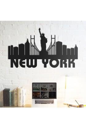 Domirror Deco Metal Tablo New York