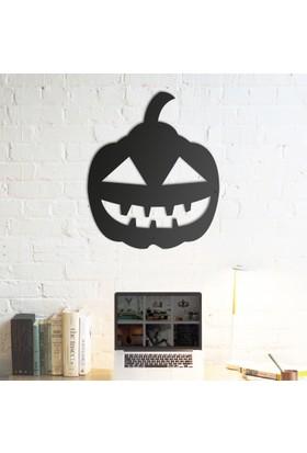 Domirror Deco Metal Tablo Happy Pumpkin