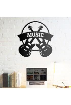 Domirror Deco Metal Tablo Music