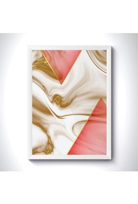 Domirror Çerçeveli Tablo 1624814-BHE Gold