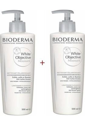 BIODERMA White Objective Foaming Cleanser 500 ml 2'li Set