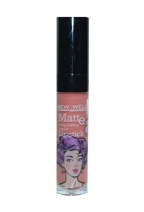 New Well Handmade Serisi Matte Lipstick Kalıcı Ruj 584
