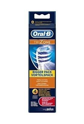 Oral-B Elektrikli Diş Fırçası Yedek Başlığı Trizone 4 Adet