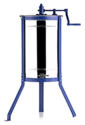 Temiziş Bal Süzme Makinası 3 lü (304 Kalite) Krom