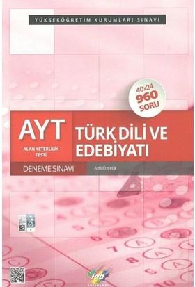 Fdd Ayt Türk Dili Ve Edebiyatı 40X24 Deneme Sınavı - Adil Özçelik