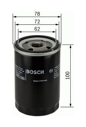 Bosch Fiat Albea 1.4 Yağ Filtresi 2004-2012